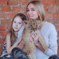 Фотопроет со львенком