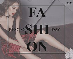 А у нас новая акция! FASHION PHOTO DAY!